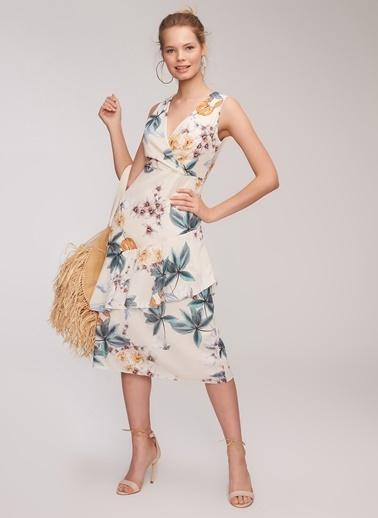 People By Fabrika Elbise Sarı
